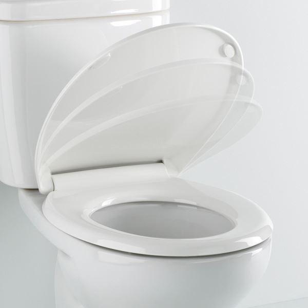 Asiento de inodoro modelo blanca adaptable al modelo for Inodoro modelo victoria