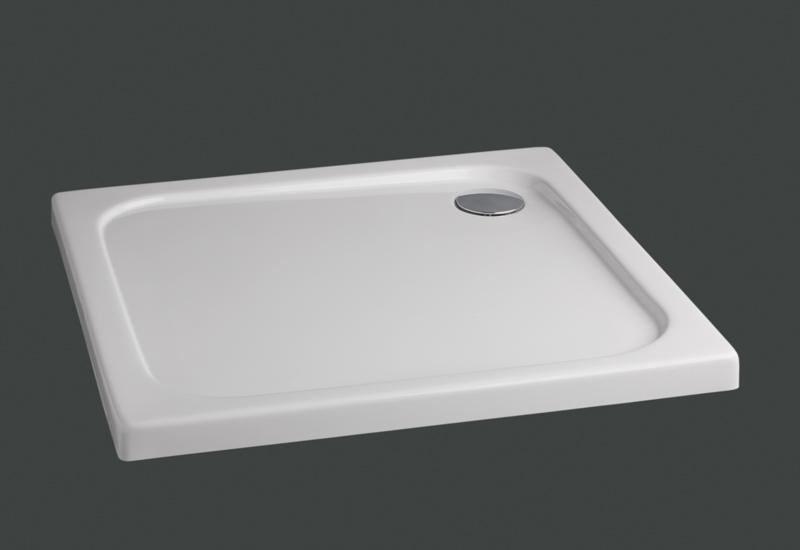 Plato de ducha cuadrado en acr lico serie extraplano - Plato de ducha 70x70 ...