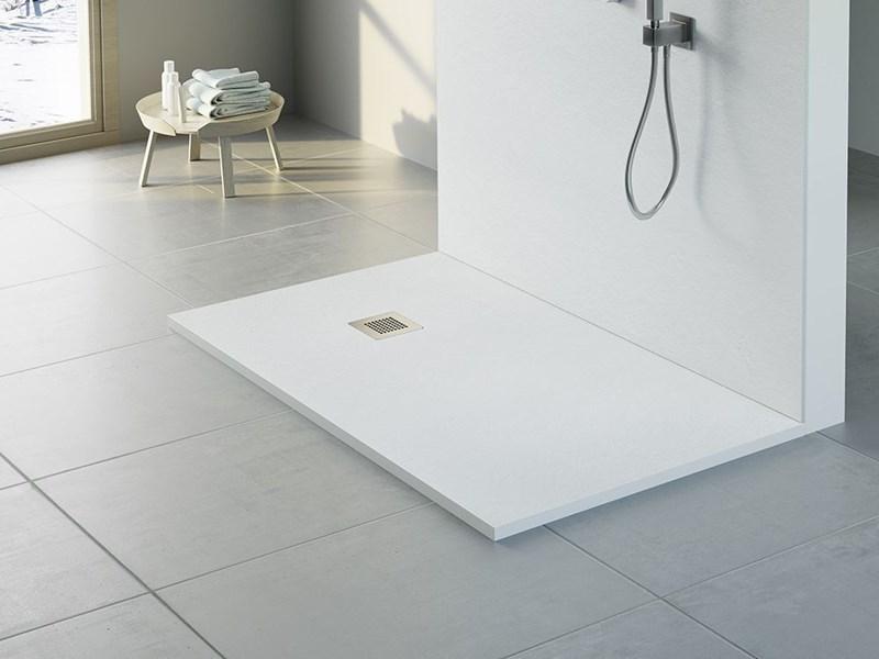 Plato de ducha de resina mod enna medidas estandar altura for Platos de ducha medidas estandar