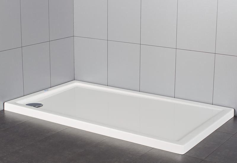 Plato de ducha rectangular en acr lico serie extraplano for Plato de ducha acrilico