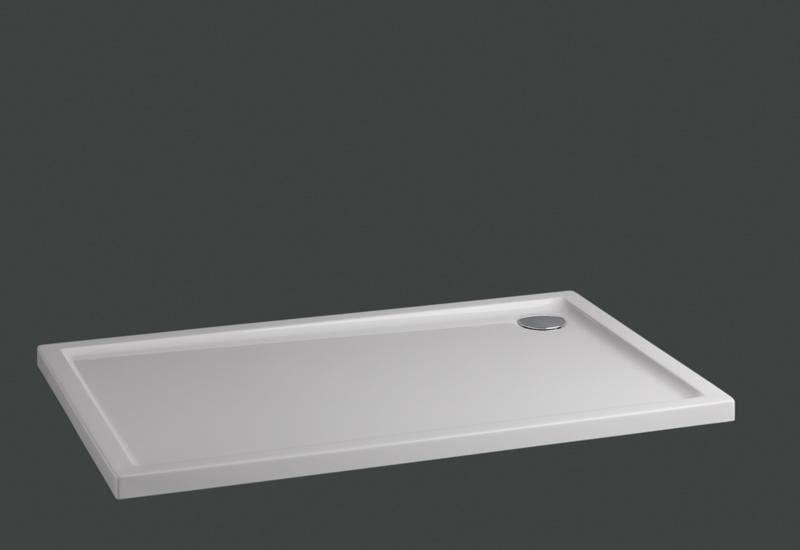 Plato de ducha rectangular en acr lico serie extraplano - Plato de ducha porcelana ...